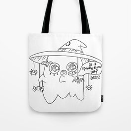 Impatient Ghosty Tote Bag