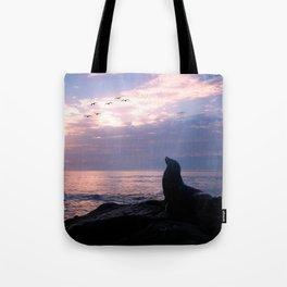 La Jolla Sea Lion Tote Bag
