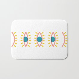 Sleepy Eyes Bath Mat