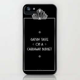 Gatsby Style iPhone Case