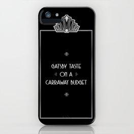 Gatsby Style iPhone Case