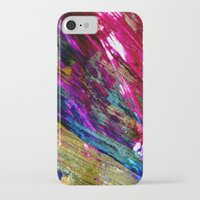 the strokes iPhone & iPod Cases featuring paint strokes by Hannah