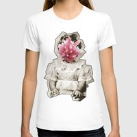 geode T-shirts featuring Geode Face 3 by hunnydoll