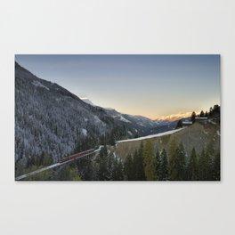 Schanfigg GR Langweis 2 Canvas Print