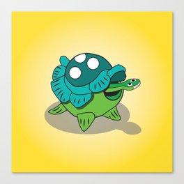 Turtle Bob Canvas Print