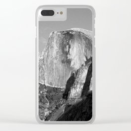 Half Dome (vintaged) Clear iPhone Case