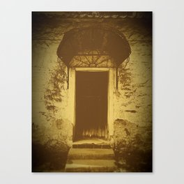 Home Front Door Canvas Print
