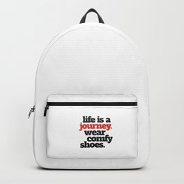 Funny Life is a Journey ... Backpack