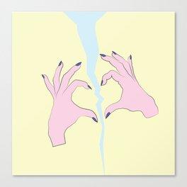 Broken Heart Club Canvas Print