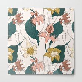 Orchid garden Metal Print