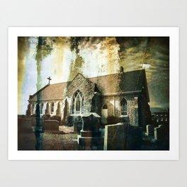 Losing Faith Art Print