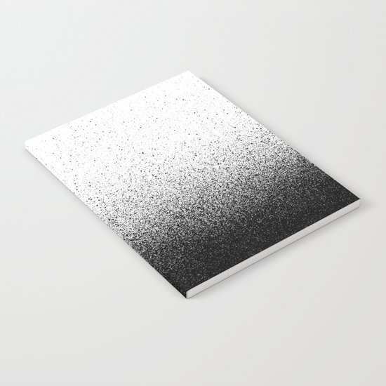 DUST / black Notebook