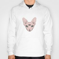 sphynx Hoodies featuring SPHYNX. by paintparamore