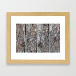 Wood II landscape Framed Art Print