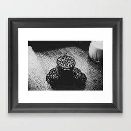 Cookies and Milk  Framed Art Print
