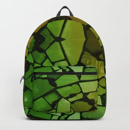Mosaic - Green Parrot Backpack