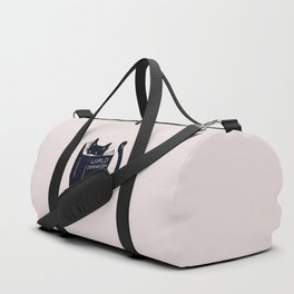World Domination For Cats Duffle Bag