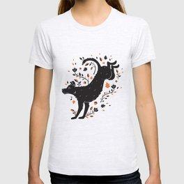 Dogs of Fall - Orange Palette T-shirt