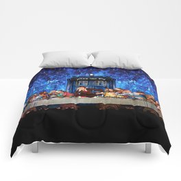 Tardis doctor who lost in the last supper iPhone 4 4s 5 5c 6, pillow case, mugs and tshirt Comforters