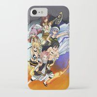 fairy tail iPhone & iPod Cases featuring Fairy Tail Chapter 432 by Minty Cocoa