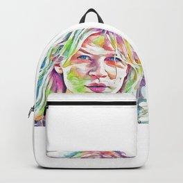 Clemence Poesy (Creative Illustration Art) Backpack