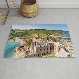 Castle in  Brittany Rug