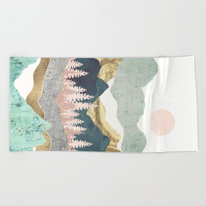 Summer Vista Beach Towel