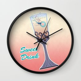 Sweet Drink Wall Clock