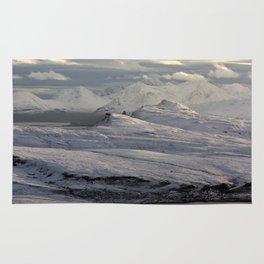 Trotternish Peninsula and Cuillin Mountains Isle of Skye Rug