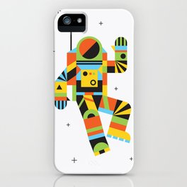 Hello Spaceman iPhone Case