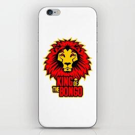 King of the Bongo iPhone Skin