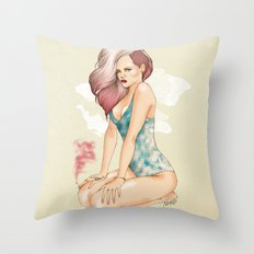 Unapologetic Rihanna Throw Pillow