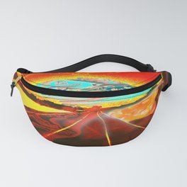 Railroad to the world. Fanny Pack