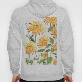 Dahlia Flowers 1 Hoody