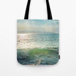 Pā'ako Beach Iridescence Tote Bag