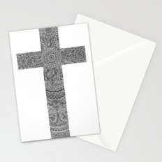 Zen Doodle Cross Stationery Cards