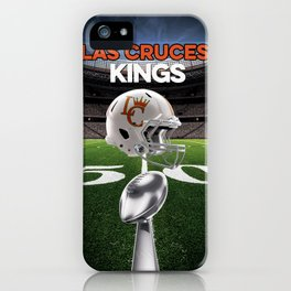 Las Cruces Kings iPhone Case