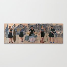 The swing states Canvas Print
