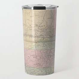 Vintage Map of Alberta Canada (1912) Travel Mug