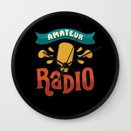 Ham Radio Gifts: Amateur Radio Wall Clock
