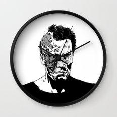 Terminator (b/w) Wall Clock