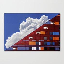 Sky Architecture Canvas Print