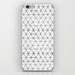 Watercolour triangles iPhone Skin