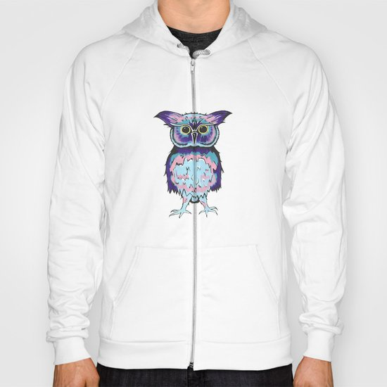 Small Scrappy Owl Hoody