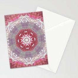 "Pastel Hidden ""Text"" Mandala Stationery Cards"