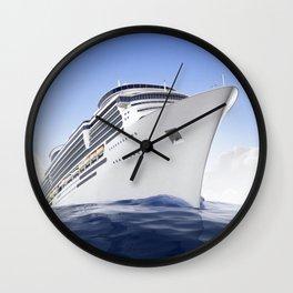 Cruise Ship Wall Clock