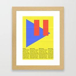 Motion Picture Definition Framed Art Print