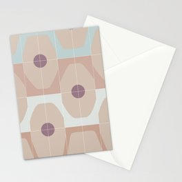 Octagonal Tiles Stationery Cards
