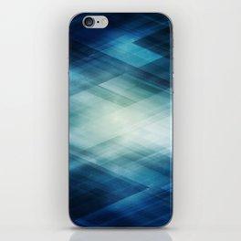 Amazing Abstract Triangular Galaxy - Visual Art V.6 iPhone Skin