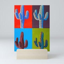 Saguaro Panel Mini Art Print